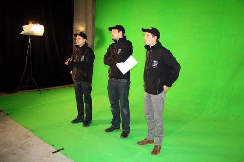Így készül az etyeki Filmbuilding