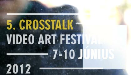 Crosstalk Video Art Festival