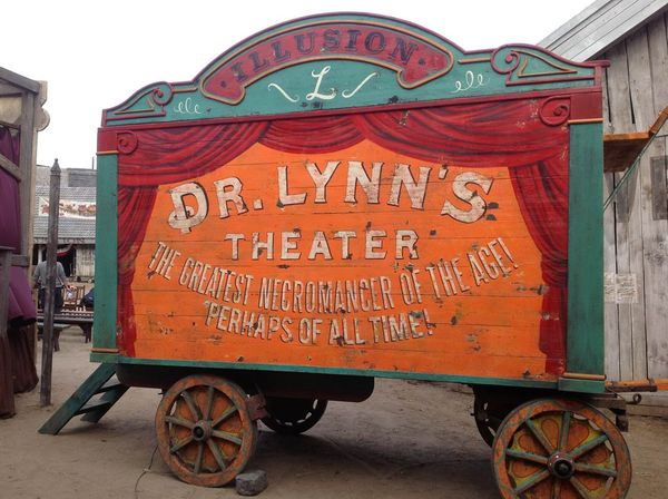 A Houdini díszlete a Mafilmben